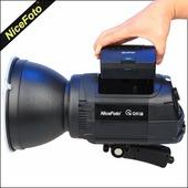 Nicefoto 600ws NFLASH Q6C 1/8000 s Комплект студийного импульсного моноблока с автономным питанием