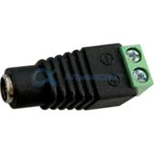 SCPLRMESB Ecola LED strip connector переходник с разъема штырькового (мама) на колодку под винт уп. 1 шт.