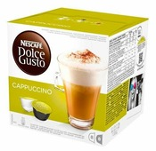Капсулы Nescafe Dolce Gusto Cappuccino 8+8 шт