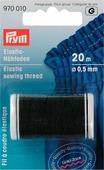 """Нить эластичная """"Prym"""", цвет: черный, 0,5 мм, 20 м"""