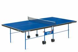 Теннисный стол START LINE Game Indoor с сеткой, ЛДСП 16 мм, метал. кант 40мм, на роликах, складной, с сеткой