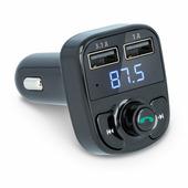 FM модулятор (трансмиттер) автомобильный Forever TR-330 с Bluetooth, двумя USB и громкой связью