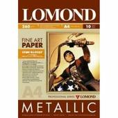Фотобумага Lomond металлик 1*260гр,10л,А4, полуглянцевая (0938042)