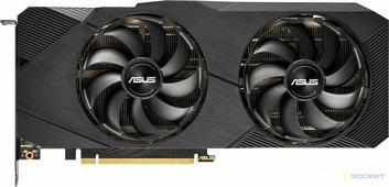 Видеокарта Asus GeForce RTX 2070 SUPER EVO OC (DUAL-RTX2070S-O8G-EVO)(8192Mb, GDDR6, 256bit)