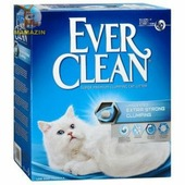 Наполнитель Ever Clean Extra Strong Clumping Unscented, 10л