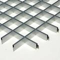 Потолок грильято Люмсвет металлик матовый 75*75*50 мм