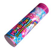 """Хлопушка мегабум 20см Д50мм бело-розовое конфетти """"Свадебная"""" С900"""