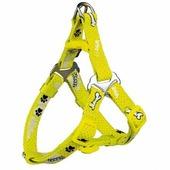 Шлея TRIXIE для собак Premium Harness Woof S 40-50см/15мм жёлтая