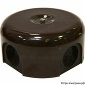 Ретро коробка Lindas, цвет коричневый , 90 мм
