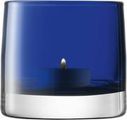 Подсвечник Lsa International Light, цвет: синий, высота 8,5 см