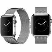 Ремешок металлический iWatch Milanese Loop Silver Apple Watch 42mm Series 1\2\3