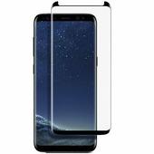 Противоударное защитное стекло с полным клеем Full Glue Cover 0.3m черное Samsung G960 Galaxy S9