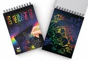 Danko Toys Набор для творчества Гравюра-блокнот серия GRATTAGE, А5
