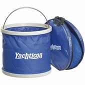 Ведро тканевое из ПВХ Yachticon Falteimer 32.4757.00 9 л 260 х 310 мм в сумке для хранения