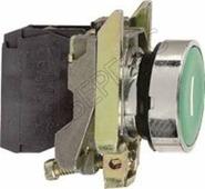 Зел кнопка с потайным толкателем Schneider Electric, XB4BA31