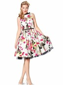 Электронная выкройка Burda - Платье с пышной юбкой 7054