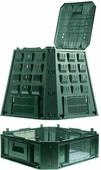 "Компостер садовый Prosperplast ""Evogreen"", цвет: зеленый, 630 л"