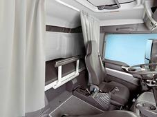 Комплект автоштор Эскар Blackout - auto SK, серо - белый, 2 шторы 120 х 160 см, гибкий карниз 3 м