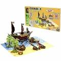 Игровой набор STIKBOT Пиратский корабль