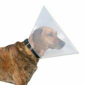 Воротник защитный для собак и котов TRIXIE Veterinary после операции XS 22-25см, 7см