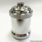 """Ретро патрон """"ASR Wide Silver RS-34"""", материал: алюминий, цвет: серебро"""
