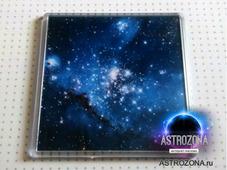 Магнитик Hubble Space Galaxy 100х100