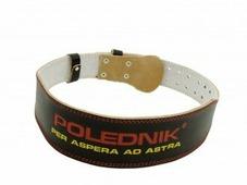 Пояс для силовых тренировок и пауэрлифтинга Polednik Leather