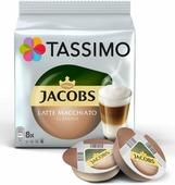 Капсулы Tassimo Jacobs Latte Macchiato, Тассимо Латте Макиато 8+8 шт