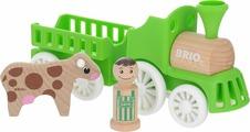 Игровой набор Brio Мой родной дом Фермерский поезд