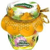 Луговица Мед натуральный липовый, 250 г