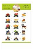 """Магнит Простые Предметы на холодильник для снижения веса """"Равенство продуктов"""""""