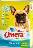 """Лакомство """"Омега Neo+"""" с мятой и имбирем """"Свежее дыхание"""" для собак 90 таблеток, 45 г."""
