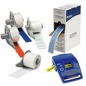 Этикетки BM71-7-423 ( TLS/HM BPTL-7-423) 12.7 х 12.7 мм, белые {brd115027}