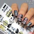 Fashion Nails Слайдер-дизайн Galaxy 64. Fashion Nails.