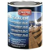 Бесцветное финишное масло Owatrol Deck Sealer 1 л