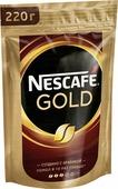 Кофе растворимый Nescafe Gold, 220 г