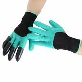 Перчатки защитные с когтями (п/э п/у) TEL9903