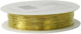 """Проволока для рукоделия """"Астра"""", цвет: золотистый, 0,3 мм х 30 м"""