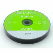 Диск Intro DVD-R INTRO 16x 4.7GB Shrink 10