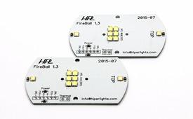Плата со светодиодами в сборе (Fireball) - Модифицированная плата для ПТФ RN-098