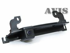 AVEL CMOS штатная камера заднего вида AVIS AVS312CPR (#066) для NISSAN TIIDA HATCHBACK, интегрированная с ручкой багажника