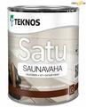 Воск для сауны Teknos SATU-SAUNAVAHA Variton, 0,9 л, шт