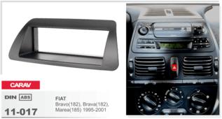 Переходная рамка для установки магнитолы CARAV 11-017 - Fiat Bravo, Brava, Marea