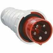 IEK Вилка кабельная 63А 3Р+N+Е IР54 переносная 380В 035 (PSR02-063-5)