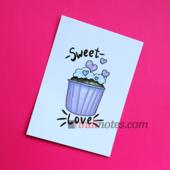 All Write Открытка почтовая Sweet love, A6