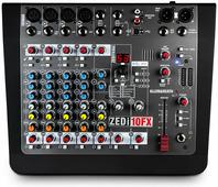 ALLEN&HEATH ZEDi10FX - Микшерный пульт, Аудио интерфейс USB 24-бит/96кГц 4 входа, 4 выхода