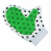 Рукавичка для чистки шерсти Migliore Двусторонняя рукавица, зеленый
