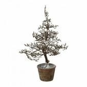 Gasper GmbH Дерево искусственное заснеженное в горшке (44 см)