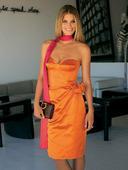 Электронная выкройка Burda - Платье на корсажной основе №122 A