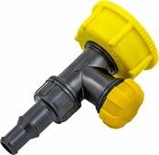 """Крышка-вентиль для канистр """"Экстрим"""", цвет: черный, желтый. XVNT"""